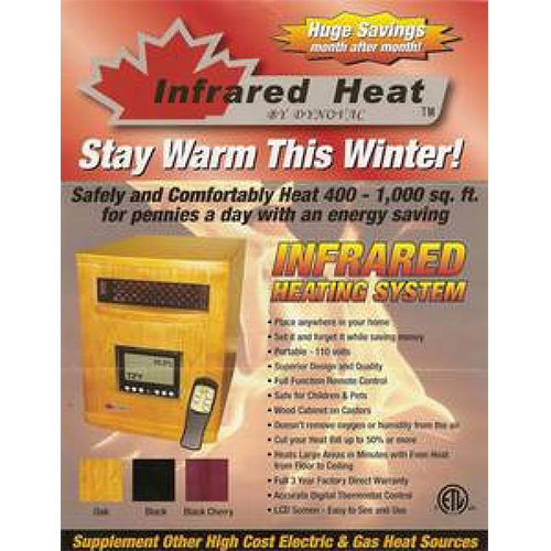 Dynovac Infrared Heater